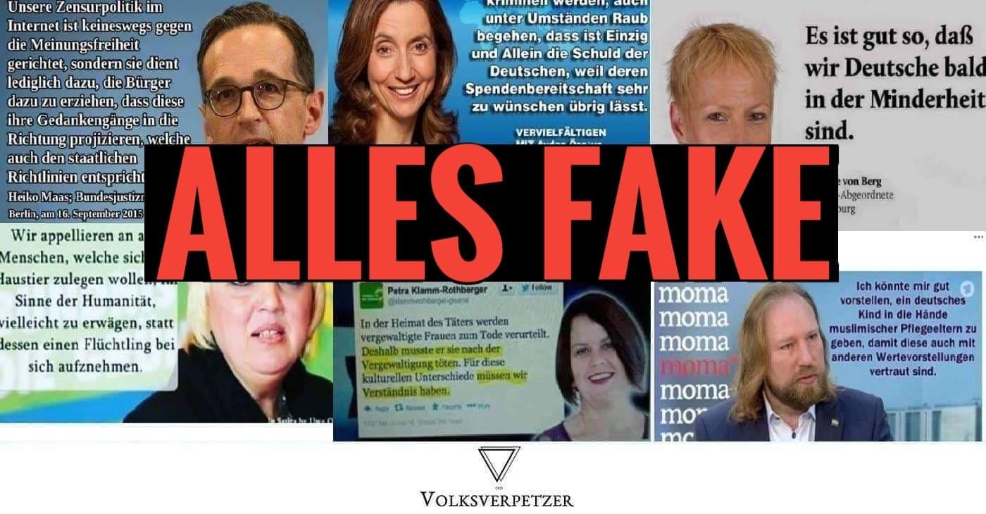 Wie Rechte Mit Fake Zitaten Auf Facebook Stimmung Machen