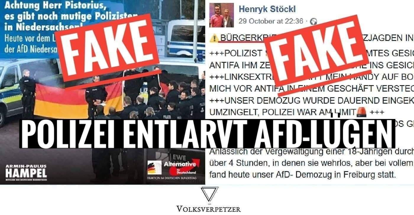 5 Fälle In Denen Die Polizei Die Lügen Der Afd Aufdecken Musste