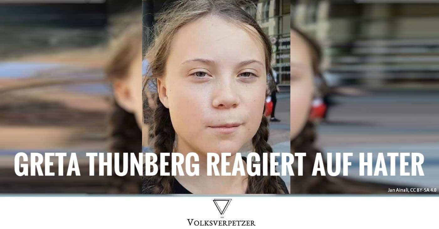 Greta Thunberg Update: So Genial Reagiert Greta Thunberg Auf Ihre Hater
