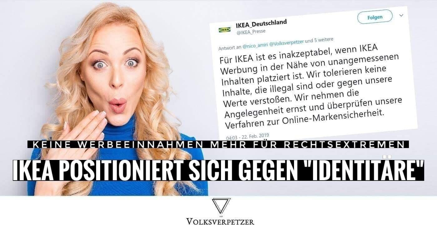 Ikea Entzieht Ungewollte Werbe Finanzierung Fur Rechtsextremen Auf
