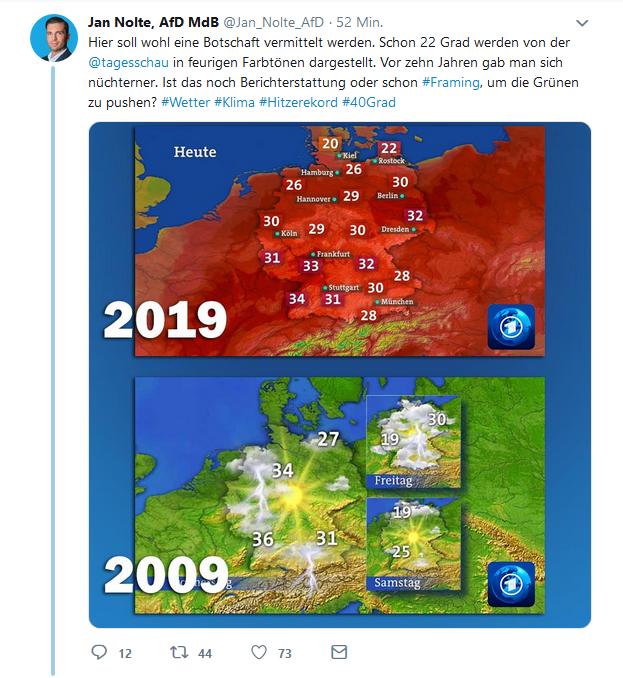 Afd Wetterkarte