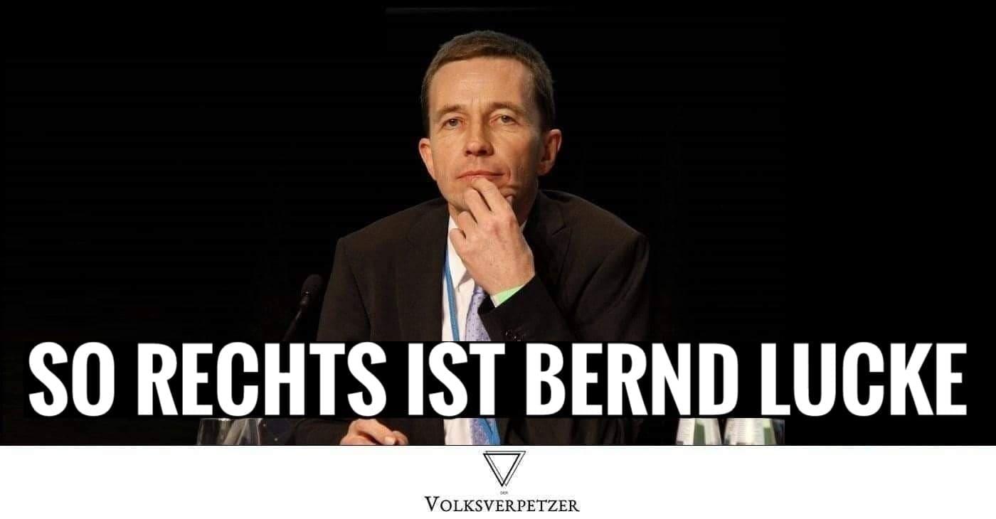 Bernd Lucke Ist Mitschuldig Am Rechtsextremismus Der Afd