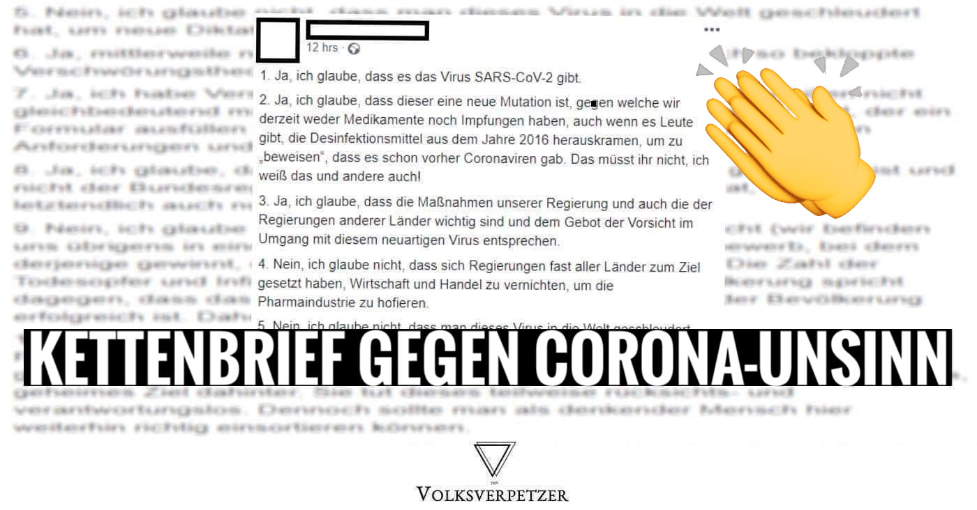 Corona Kettenbrief
