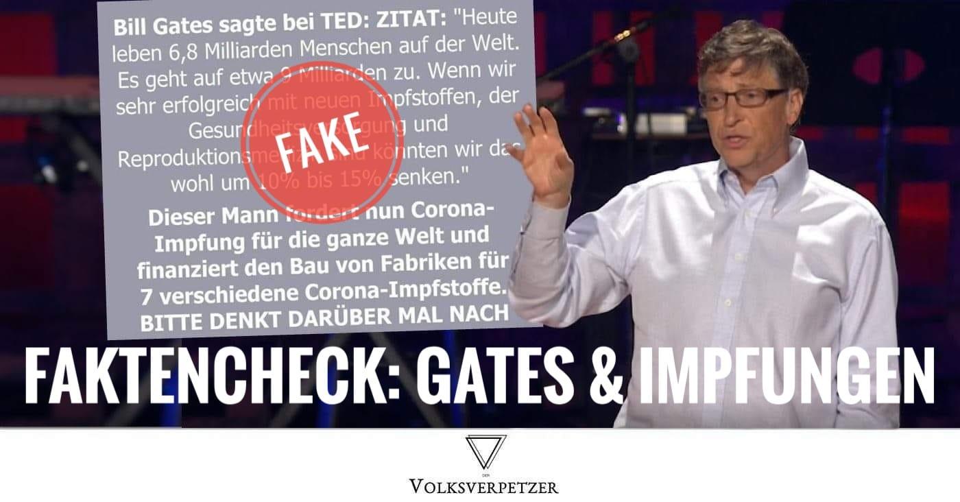 Faktencheck Bill Gates