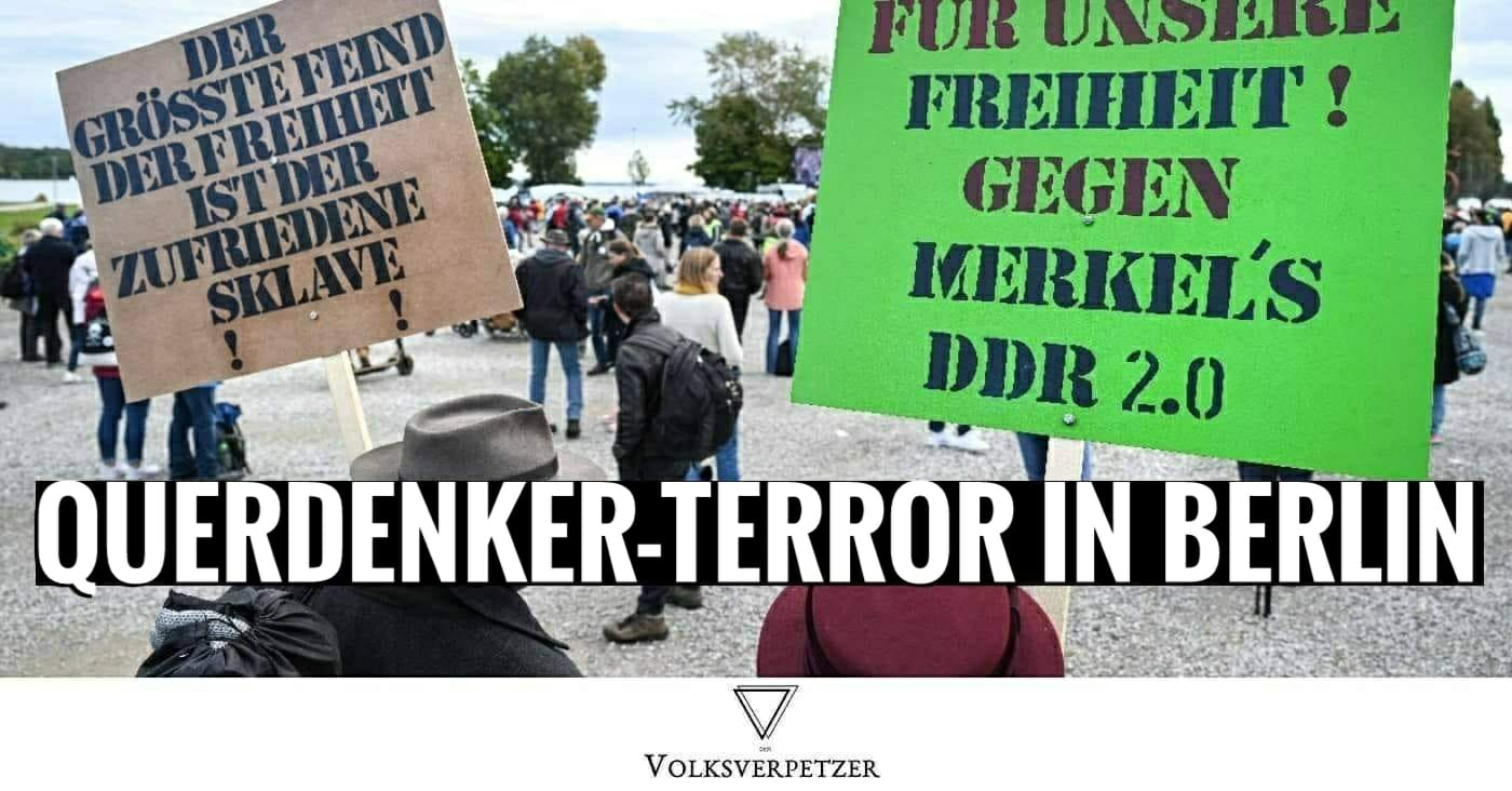 """Querdenker""-Terror: Sprengsatz in Berlin vor Leibniz Forschungseinrichtung gezündet"